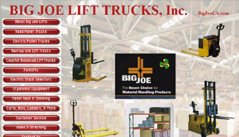 The SoCal Electric Forklift Company Website