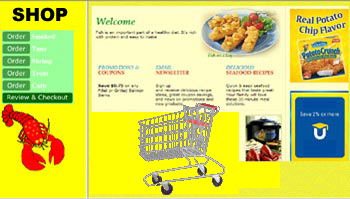 Sample Shopping Cart Website