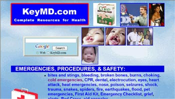 Health Emergency Directory Web Site