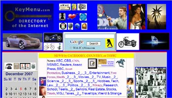 Directory of the Internet Website