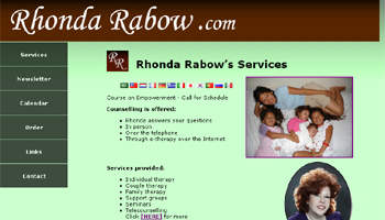 Rhonda Rabow website