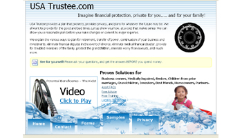USA Trustee Estate Planning Website