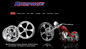 Custom Wheels Website